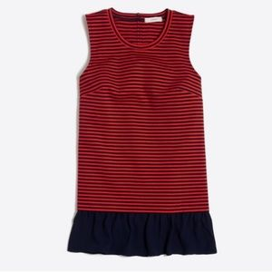 SALE! J. Crew Red and Navy Striped Tank
